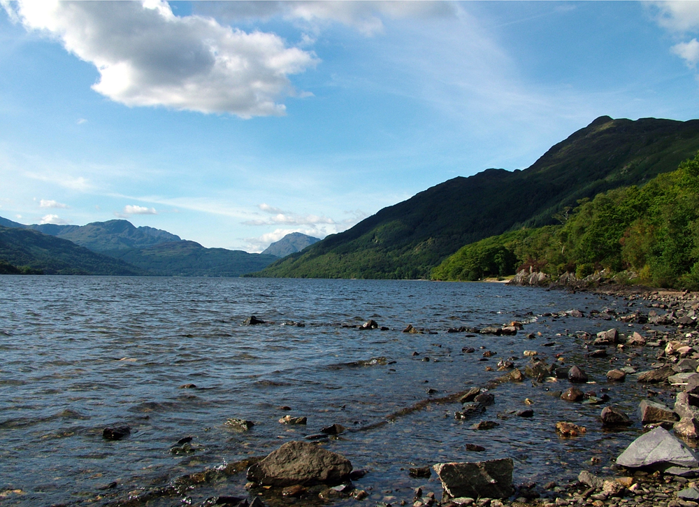Loch Lomond, looking north from Rowardennan